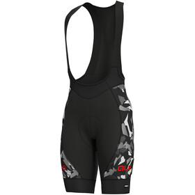 Alé Cycling Graphics PRR Glass Bib Shorts Men black-grey